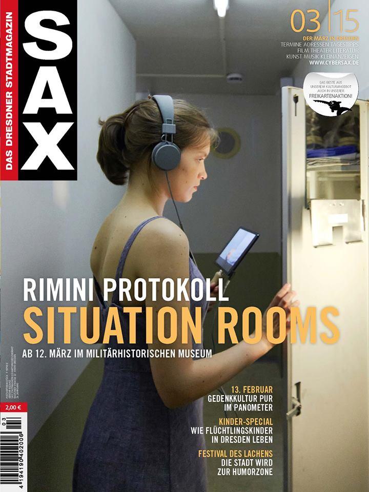 Zofa Smolarska naokladce magazynu Sax 3 2015