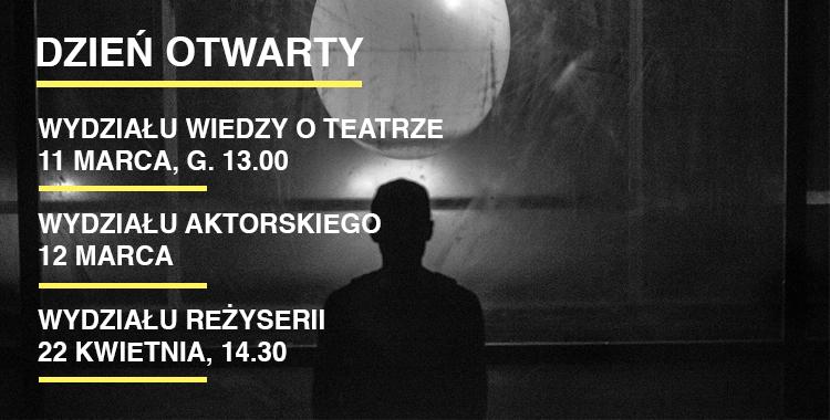 DZIEŃ OTWARTY WYDZIAŁU REŻYSERII 2016/2017