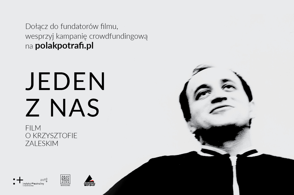 Dołącz dofundatorów filmu oKrzysztofie Zaleskim