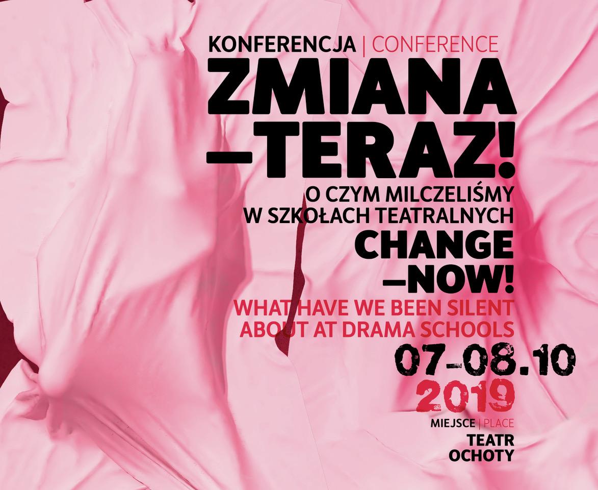 "Konferencja ""Zmiana – teraz!"""