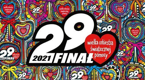Plakat 29 finału WOŚP