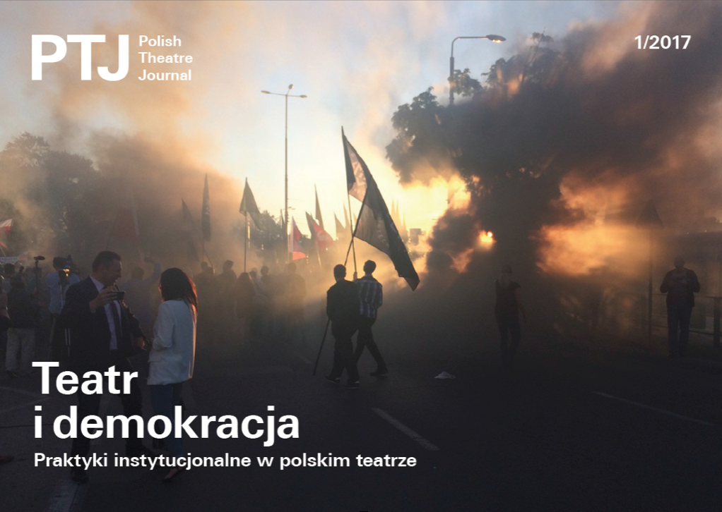 """Polish Theatre Journal"" nr3: teatr jako instytucja"