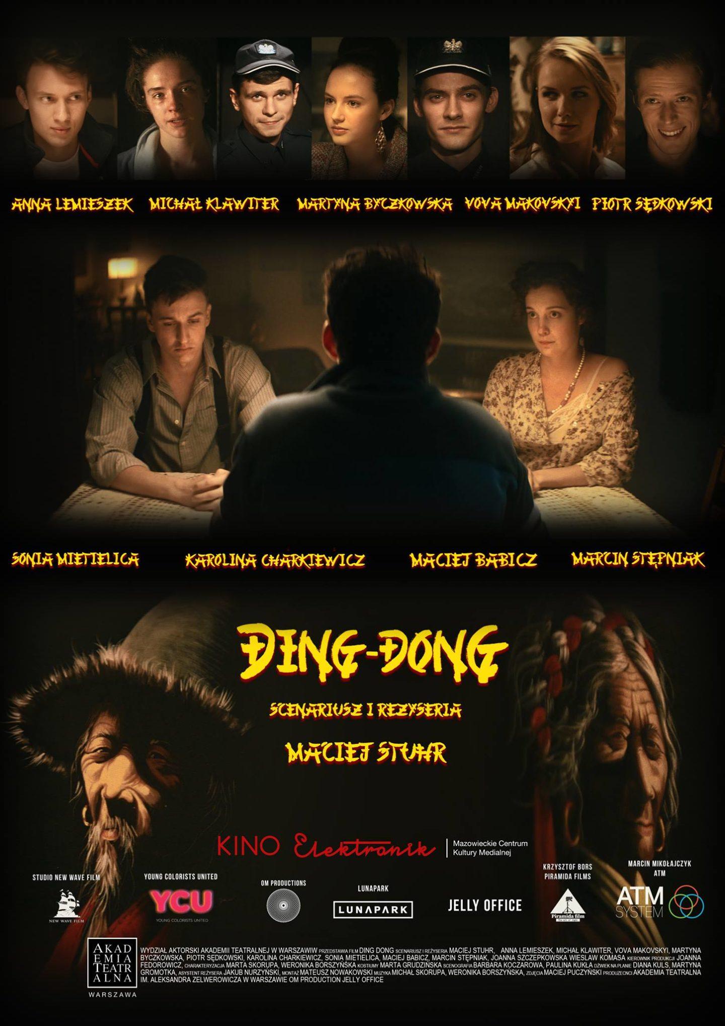 "Premiera filmu studentów IV roku ""Ding Dong"" wreżyserii Macieja Stuhra"
